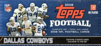 2008 Topps Football Factory Set (Box) (Dallas Cowboys)