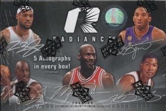 2008/09 Upper Deck Radiance Basketball Hobby Box