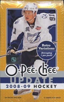 2008/09 Upper Deck O-Pee-Chee Update Hockey Hobby Box