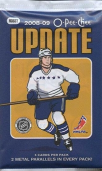 2008/09 Upper Deck O-Pee-Chee Update Hockey Hobby Pack