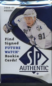 2008/09 Upper Deck SP Authentic Hockey Hobby Pack