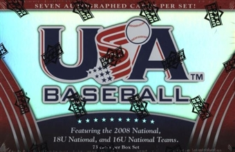 2009 Upper Deck USA Baseball National Teams Hobby Set (Box)