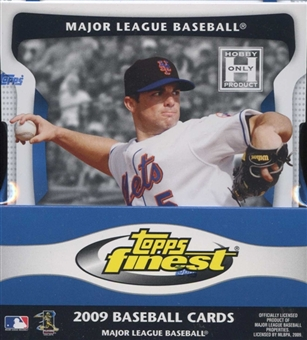 2009 Topps Finest Baseball Hobby Box