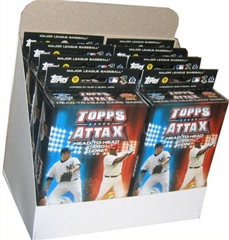 2009 Topps Attax Baseball Starter Box