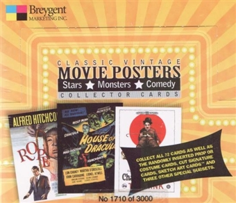 Classic Vintage Movie Posters Hobby Box (2009 Breygent)