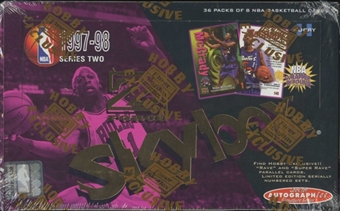 1997/98 Skybox Z-Force Series 2 Basketball Hobby Box