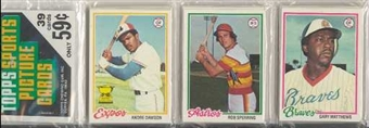 1978 Topps Baseball Rack Pack