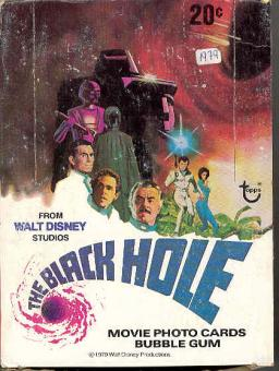 1979 Topps Black Hole The Movie Trading Cards Wax Box