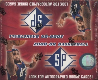 2008/09 Upper Deck SP Basketball Box