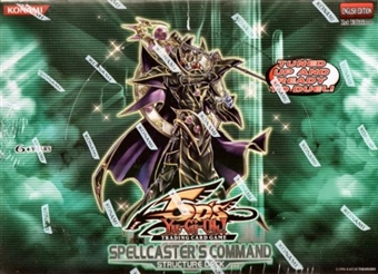 Konami Yu-Gi-Oh Spellcaster's Command Structure Deck Box