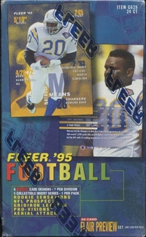 1995 Fleer Football Loader Box