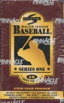 1996 Score Series 1 Baseball Retail Box
