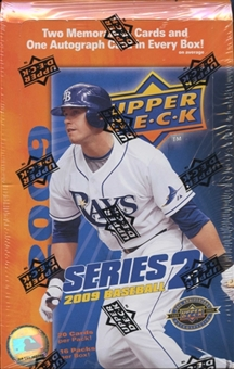 2009 Upper Deck Series 2 Baseball Hobby Box