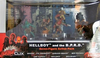 HorrorClix Hellboy and the B.P.R.D Action Pack
