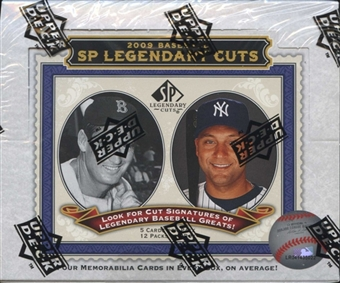 2009 Upper Deck SP Legendary Cuts Baseball Hobby Box