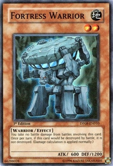 Yu-Gi-Oh Yusei Single Fortress Warrior 1st Ed. Super Rare