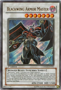 Yu-Gi-Oh Crimson Crisis Single Blackwing Armor Master Ultra Rare