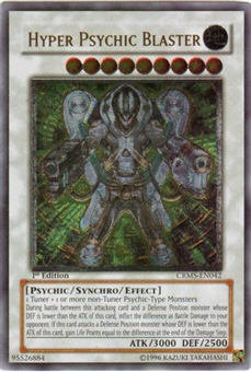 Yu-Gi-Oh Crimson Crisis Single Hyper Psychic Blaster Ultimate Rare