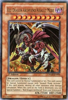 Yu-Gi-Oh Crimson Crisis Single Red Dragon Archfiend/ Assault Mode Ultra Rare