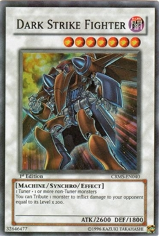 Yu-Gi-Oh Crimson Crisis Single Dark Strike Fighter Super Rare