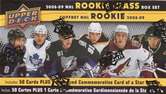 2008/09 Upper Deck NHL Rookie Class Hockey Hobby Set (Box)