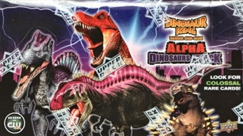 Upper Deck Dinosaur King Series 3 Alpha Dinosaurs Attack Booster Box