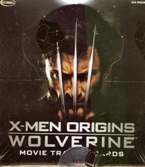 X-Men Origins Wolverine Trading Cards Box (Rittenhouse 2009)