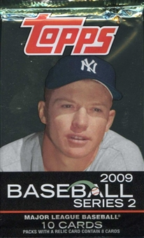2009 Topps Series 2 Baseball Hobby Pack