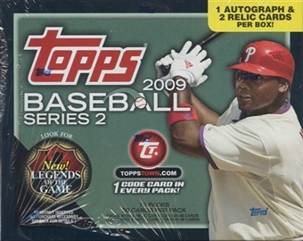2009 Topps Series 2 Baseball Jumbo Box