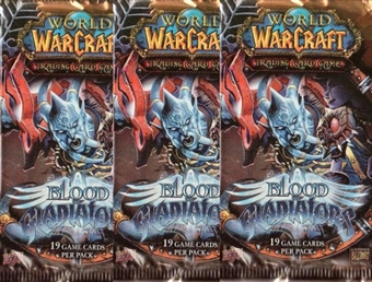 World of Warcraft Blood of Gladiators Booster Pack