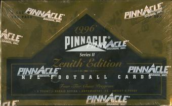 1996 Pinnacle Zenith Series 2 Football Hobby Box