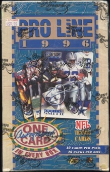 1996 Pro Line Football National Edition Hobby Box