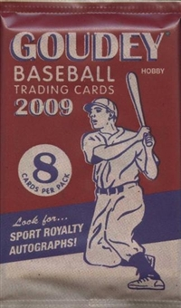 2009 Upper Deck Goudey Baseball Hobby Pack