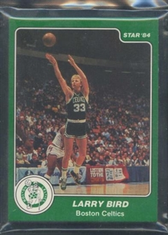 1983/84 Star Co. Basketball Celtics Bagged Set