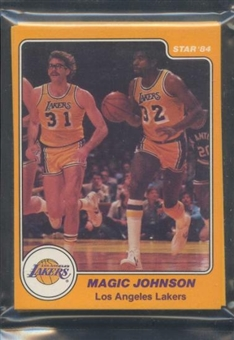1983/84 Star Co. Basketball Lakers Bagged Set