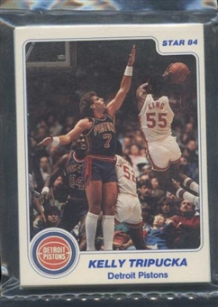 1983/84 Star Co. Basketball Pistons Bagged Set
