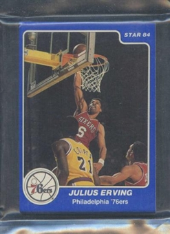 1984/85 Star Co. Basketball Sixers Arena Bagged Set
