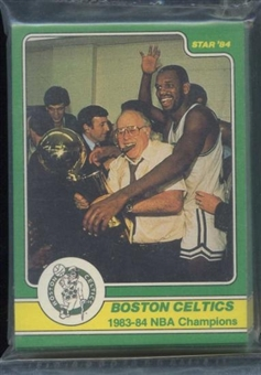 1984 Star Co. Basketball Celtics Champs Bagged Set