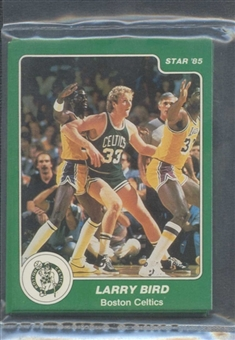 1984/85 Star Co. Arena Celtics Complete Sealed Bagged Set