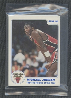 1985 Star Co. Basketball Last 11 ROY Bagged Set