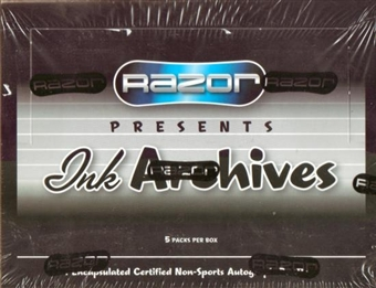 2009 Razor Ink Archives Hobby Box