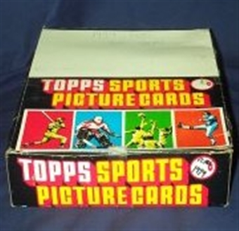1984 Topps Football Rack Box