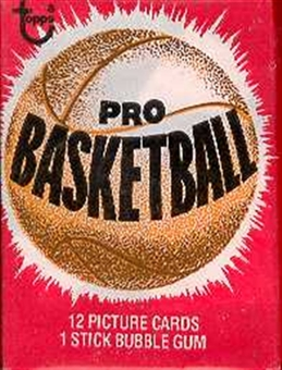 1979/80 Topps Basketball Wax Pack