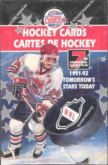 1991/92 7th Inning Sketch WHL Tomorrows Stars Today Hockey Hobby Box