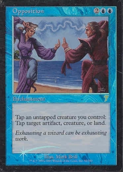 Magic the Gathering 7th Edition Single Opposition Foil