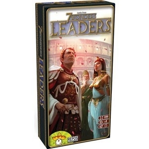 7 Wonders: Leaders Expansion Box