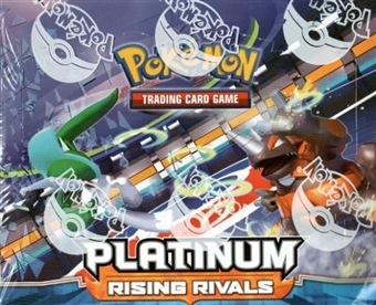 Pokemon Platinum 2: Rising Rivals Theme Deck Box