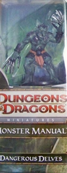WOTC Dungeons & Dragons Miniatures Dangerous Delves Booster Pack