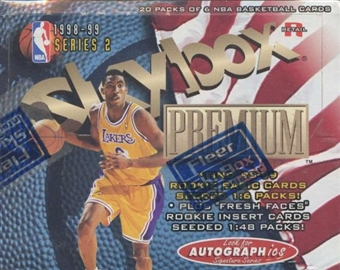 1998/99 Skybox Premium Series 2 Basketball Retail Box