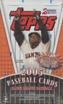2005 Topps Series 2 Baseball Retail Box